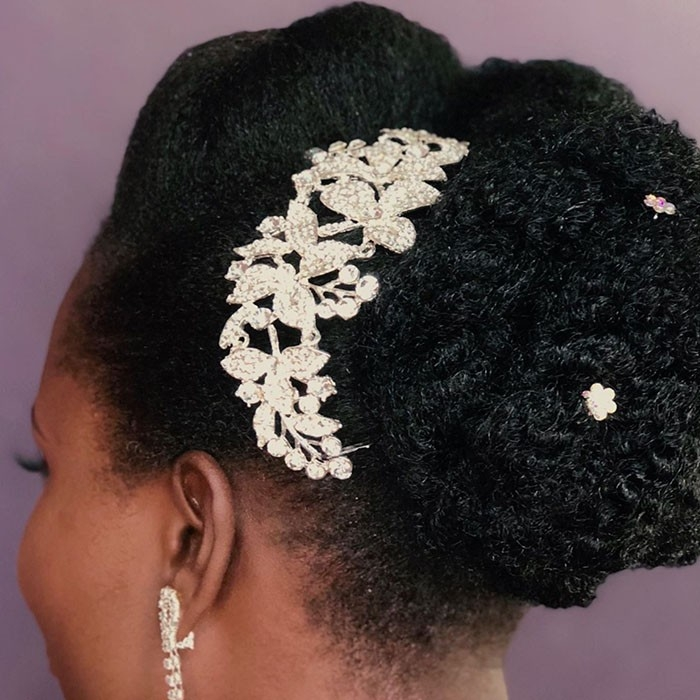 14 bridal hairstyles for natural hair naturallycurly Wedding Hairstyles For African American Hair Ideas