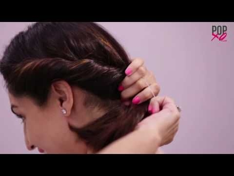 2 quickeasy indian bun hairstyles for sareeanarkalilehnga Hairstyle For Very Short Hair On Saree Choices