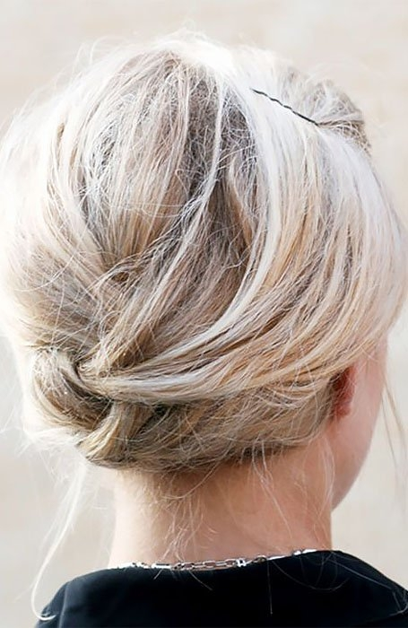 20 stunning updos for short hair in 2020 the trend spotter Up Hair Styles For Short Hair Ideas
