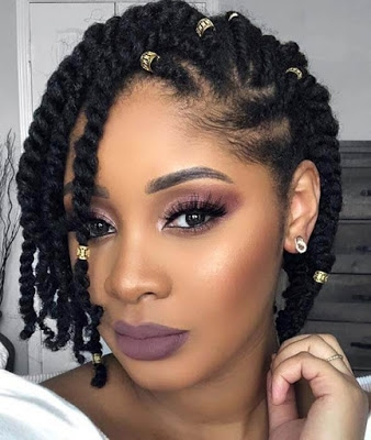 39 latest cornrow styles with natural hairstyles for black Black Hair Cornrow Styles Pictures
