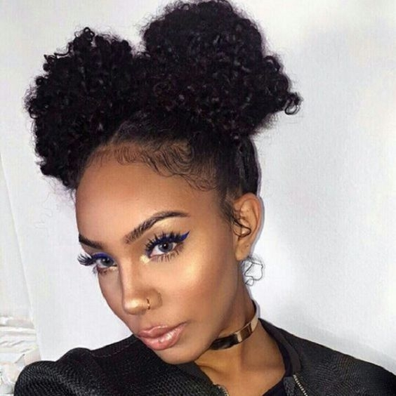african american natural hairstyles for medium length hair Natural Hairstyles For Medium Length Hair African American Designs