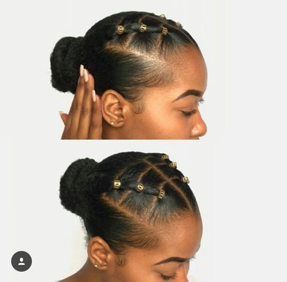 Awesome 10 natural hair winter protective hairstyles without Easy Protective Styles For Short Hair Ideas