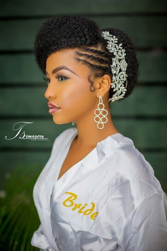 Awesome 110 wedding hairstyles for natural hair new natural Natural Hair Wedding Styles African American