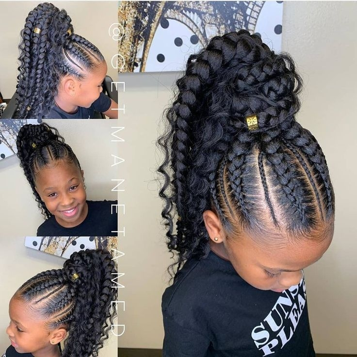 Awesome 2019 lovely stunning braids for kids crochet ideas Kids Hairstyle Braids Inspirations