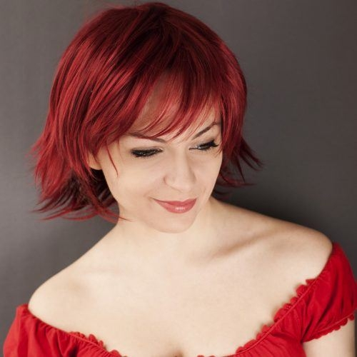 Awesome 25 short red hair ideas to release the fire in you Short Hairstyles For Red Hair Choices