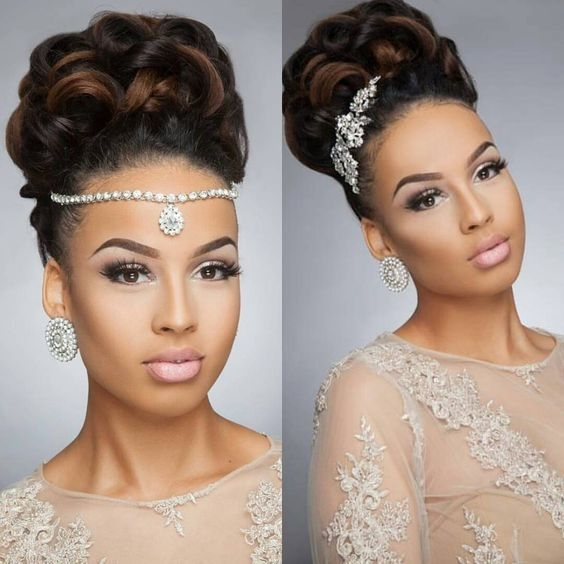Awesome 43 black wedding hairstyles for black women hairstyles Wedding Hairstyles For African American Hair