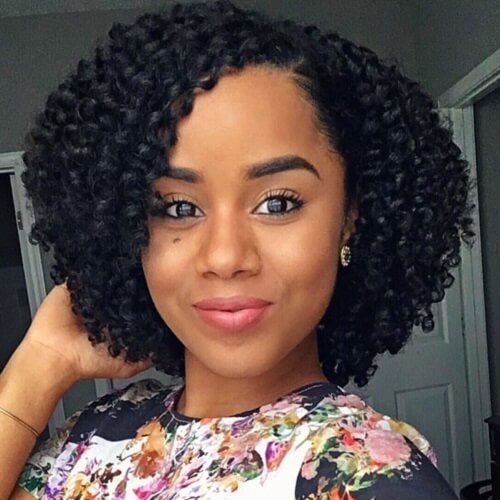Awesome 50 absolutely gorgeous natural hairstyles for afro hair AfricanAmerican Textured Hair Styles Ideas