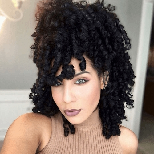 Awesome 50 absolutely gorgeous natural hairstyles for afro hair Natural African American Hairstyles Pictures
