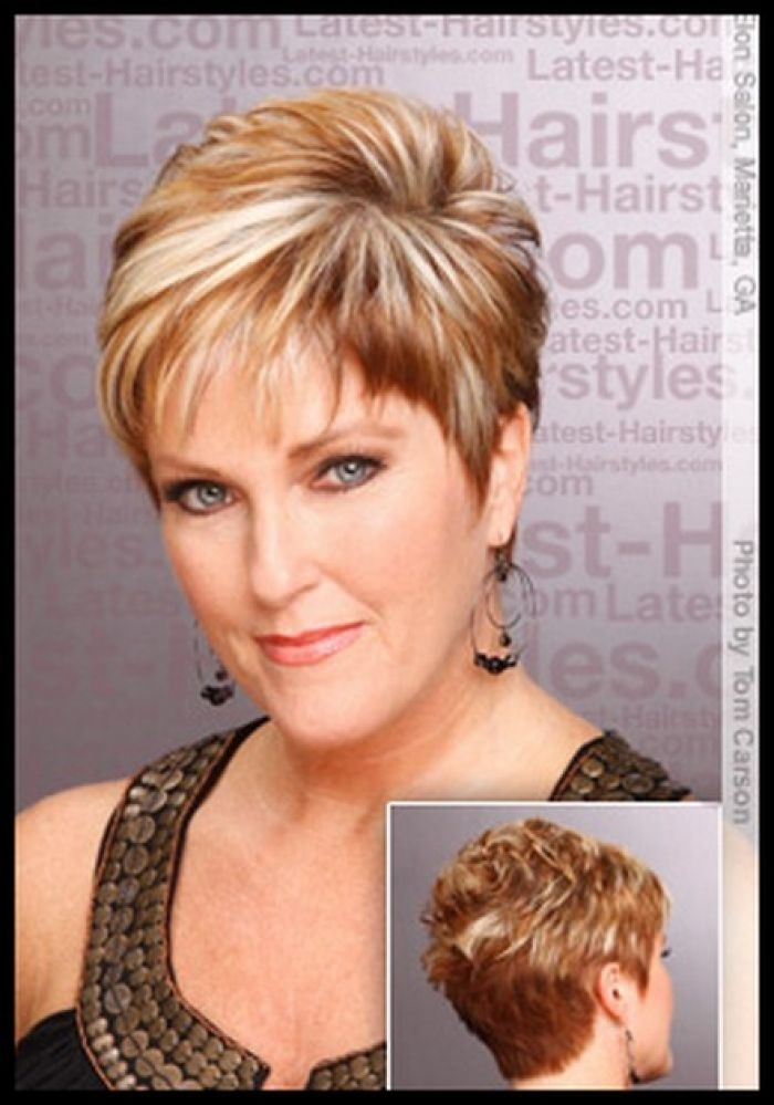Awesome 60shortlayeredhairstylesforwomenover50 pictures of Diy Hairstyles For Short Hair With Bangs Ideas