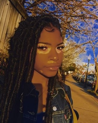 Awesome black braided hairstyles with extensions popsugar beauty Black Hair Styles Braids Pictures Inspirations