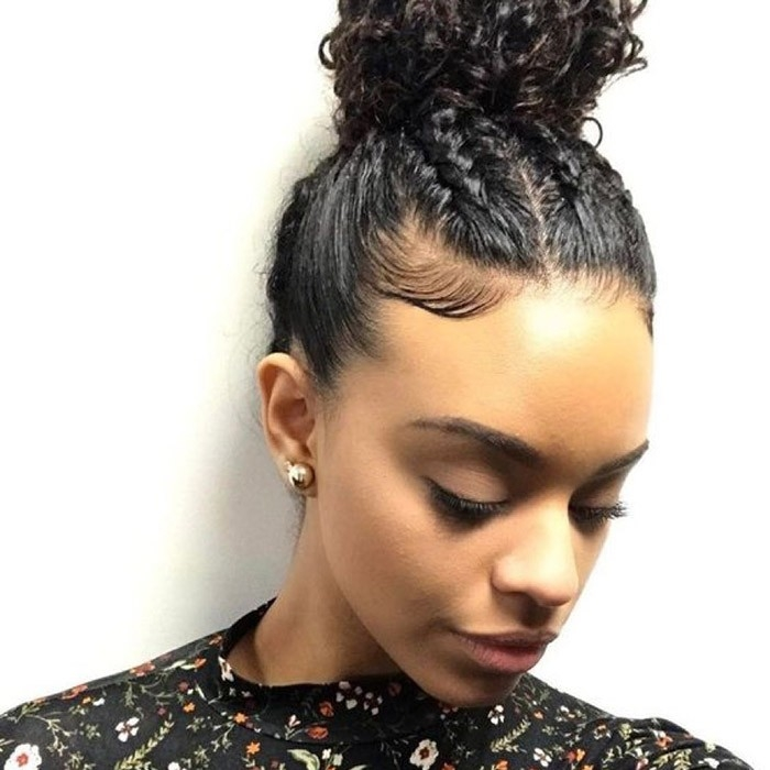 Awesome check out our 24 easy to do updos perfect for any occasion Braided Hairstyles For Naturally Curly Hair Choices