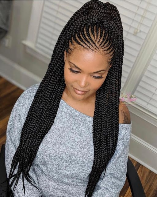 Awesome cute braids styles 2019 make your look attractive Styles Of Hair Braids Choices