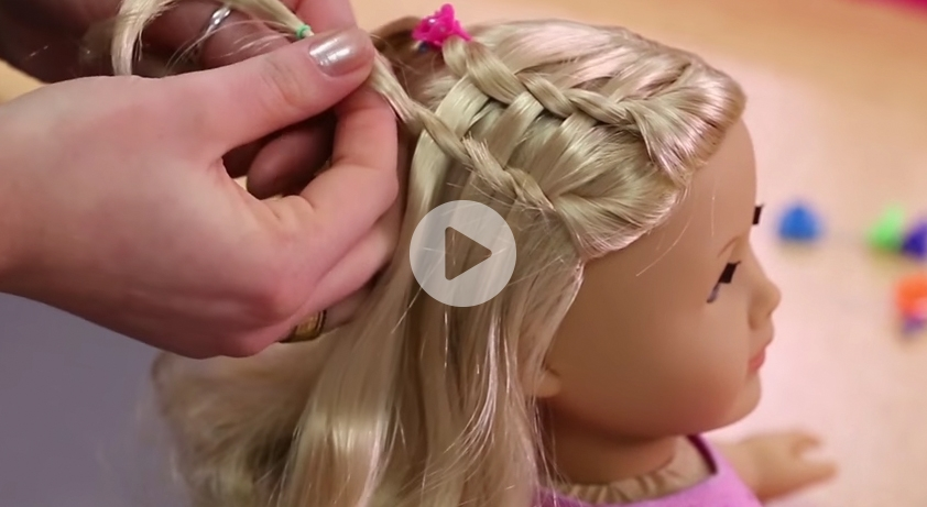 Awesome dos dolls fun american girl hairstyles for your girl and Cute And Easy Hairstyles For Your American Girl Doll