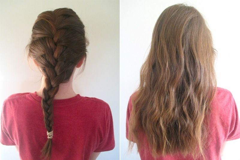 Awesome how to get wavy hair overnight broken down 4 different Ways To Braid Your Hair Before Bed Inspirations