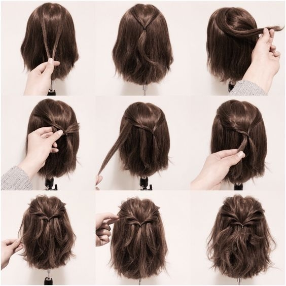 Awesome pin on hair and naels Cute Ways To Style Short Hair For School Inspirations