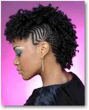 Awesome pin on natural hair designs braids twist etc Natural Hair Styles Braided Mohawk Ideas