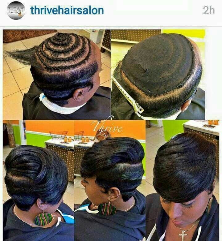 Awesome short sew in hair styles sassy hair short hair styles Short Hair Sew In Styles Ideas