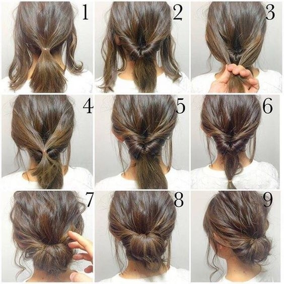 Awesome the internship beauty rules you need to know hair styles Short Hair Bun Styles Inspirations