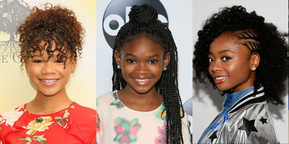 Best 14 easy hairstyles for black girls natural hairstyles for kids Quick African American Hairstyles Ideas
