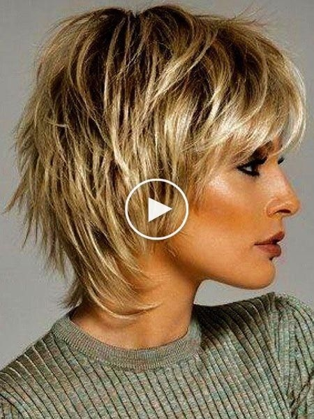 Best 30 korte gelaagde kapsels kapselideeen kortekapsel Shaggy Short Hair Styles Inspirations