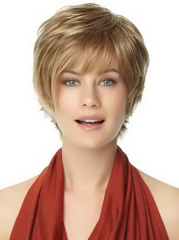 Best 58 most beautiful round face hairstyles ideas style easily Short Hairstyles For Round Faces With Double Chin Choices