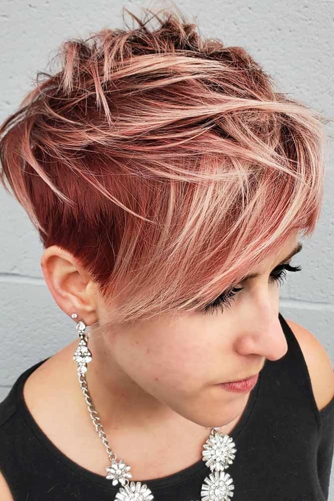 Best 95 short hair styles that will make you go short Funky Short Haircuts Choices