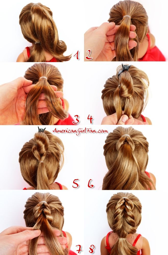 Best american girl doll hairstyle christmas tree pull through Cool Hairstyles For American Girl Dolls Designs