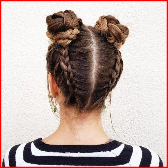 Best double dutch fishtail braids short hair models hair Easy Fishtail Braid For Short Hair Inspirations