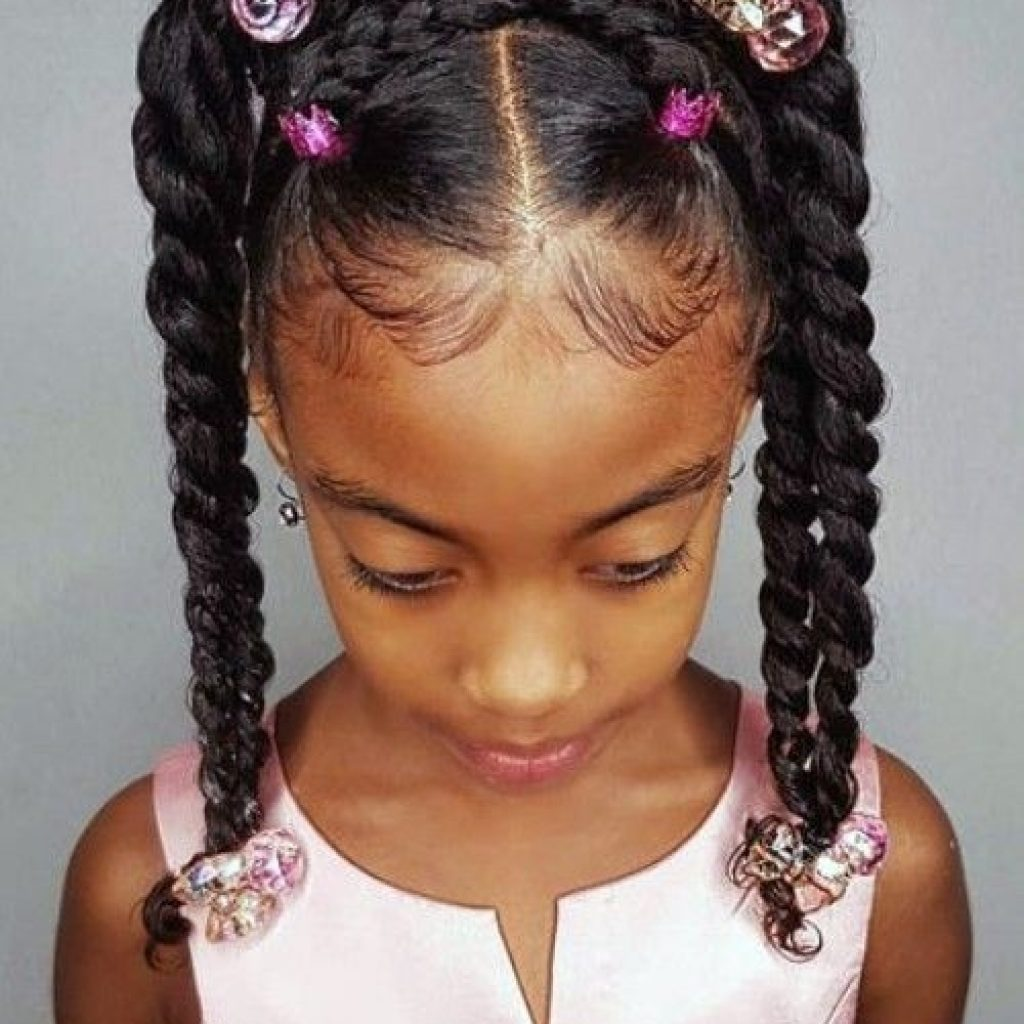 best images african american girls hairstyles new natural African American Child Hairstyles Ideas