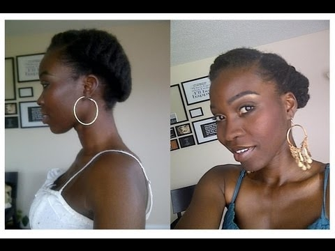 Best short natural hair tutotrial tumblr request youtube Protective Hairstyles For Short Natural Hair Tumblr Choices