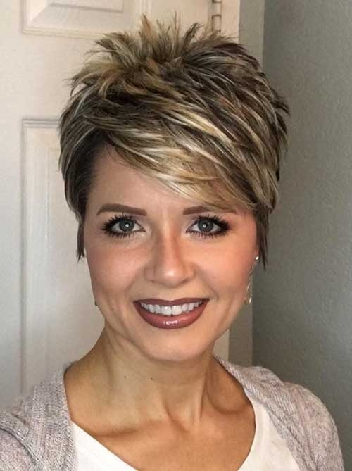 chic short haircuts for women over 50 Short Hairstyles For Fifties Choices