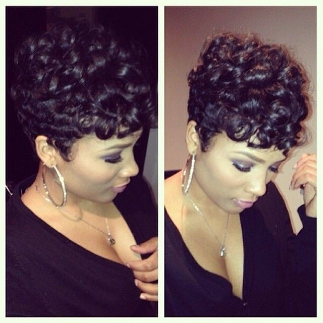Cozy 22 easy short hairstyles for african american women Short African American Hairstyles Pictures Designs