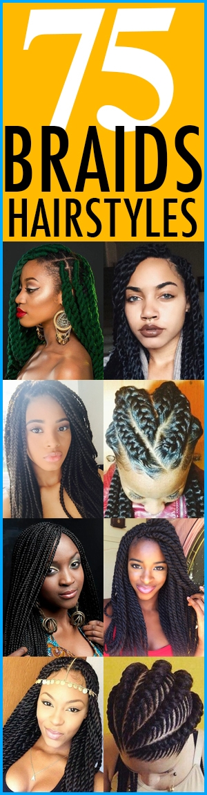 Cozy 75 super hot black braided hairstyles to wear African American Hairstyle Books