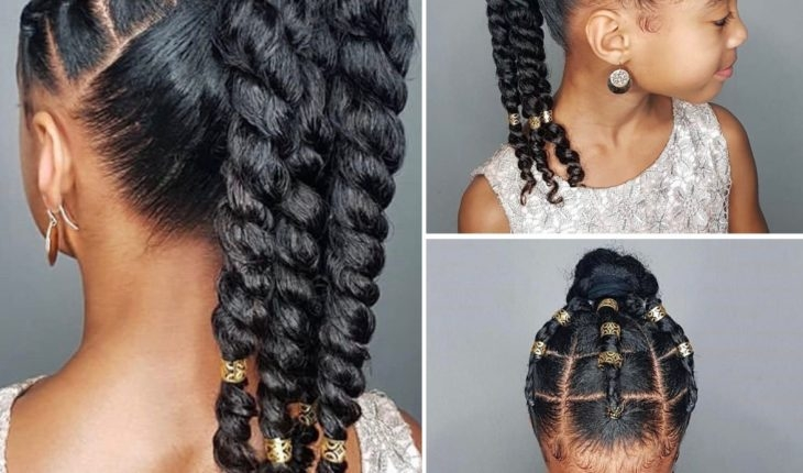 Cozy african american little girl hairstyles 30 top trendy African American Child Hairstyles