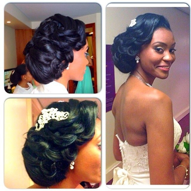 Cozy african canadian wedding hair inspiration 20 gorgeous Wedding Hairstyles For African American Hair Ideas