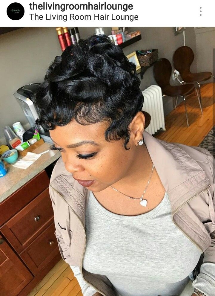 Cozy ig thelivingroomhairlounge michigan hairstylist hair African American Pin Up Hairstyles For Short Hair Ideas