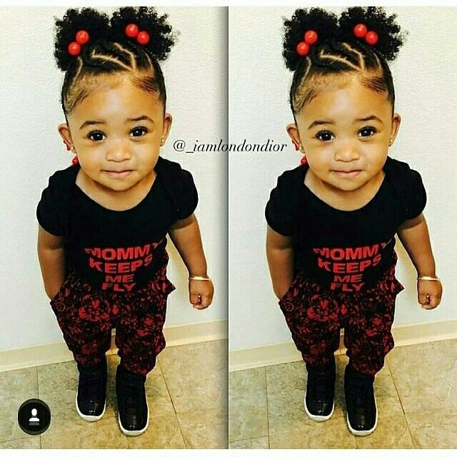 cutie pie ba girl hairstyles lil girl hairstyles Cute Hairstyles For Black Babies With Short Hair Ideas