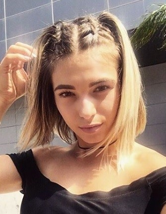 Elegant 13 easy braids for short hair to inspire your next look Plait Styles For Short Hair Ideas