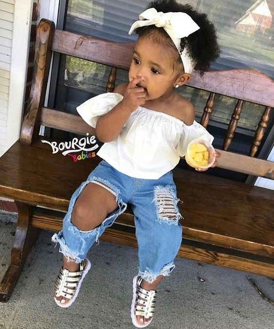 Elegant 30 easy natural hairstyles ideas for toddlers coils and glory Cute Hairstyles For Black Babies With Short Hair Choices