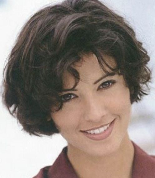 Elegant awesome short hairstyles for thick coarse hair fashion Short Haircuts For Thick Curly Frizzy Hair Ideas