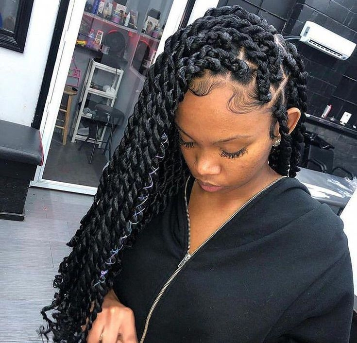Elegant braid hairstyles african american weave jumboboxbraids African American Hairstyles Weave