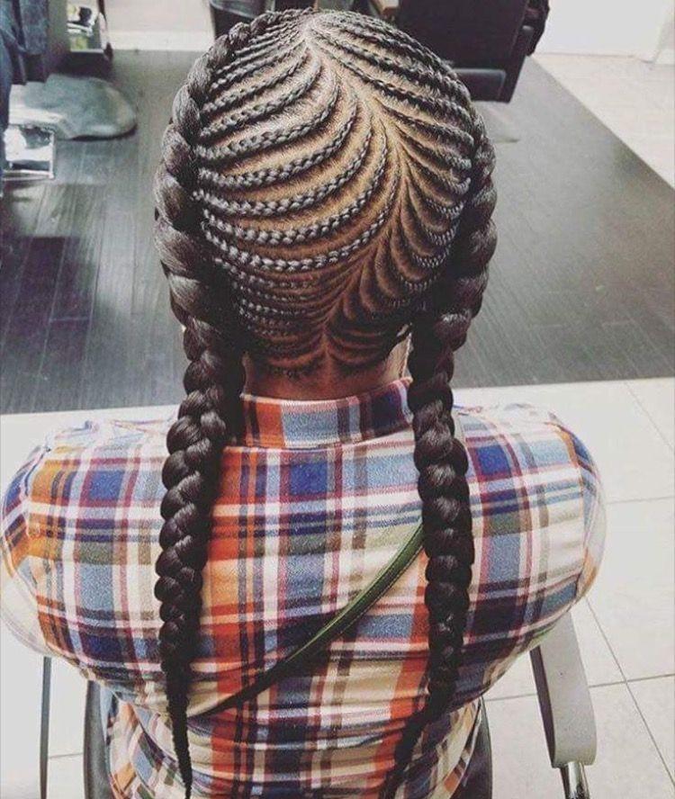 Elegant fish bone braids natural hair styles braids for kids Fishbone Hair Braid Style Ideas