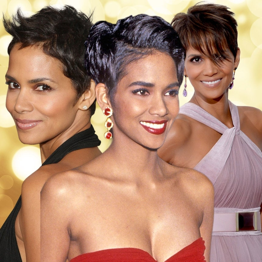 Elegant halle berry pixie hairstyles essence Halle Berry Short Hair Styles Ideas