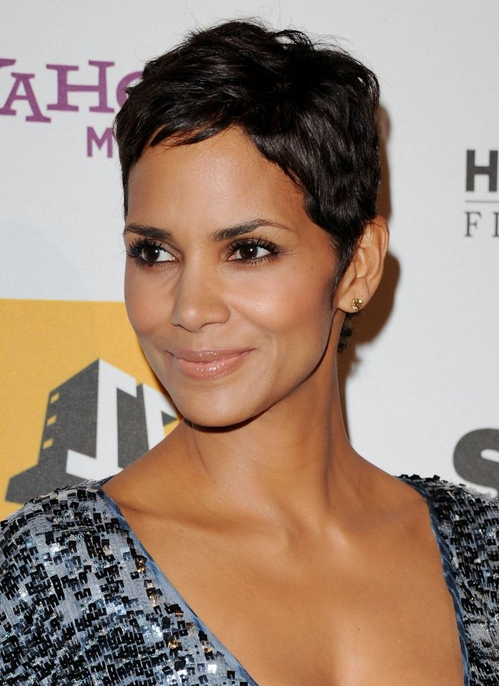 Elegant pin on hair cuts Halle Berry Short Hair Styles Choices