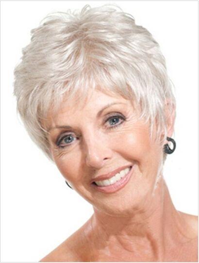 Elegant pin on over 50s womens fashion Short Hair Styles For Senior Women Choices