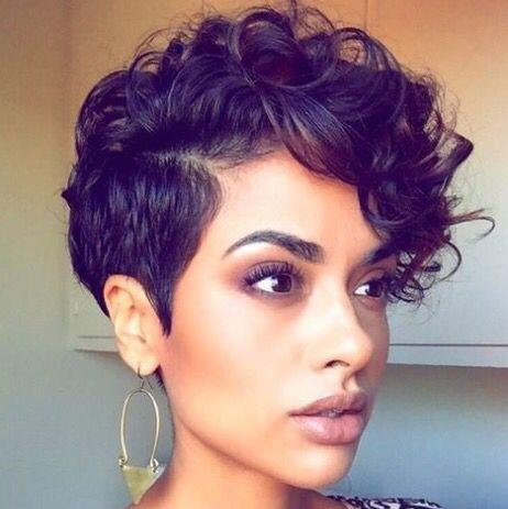 Elegant pin on short hair Curled Short Hair Styles Inspirations