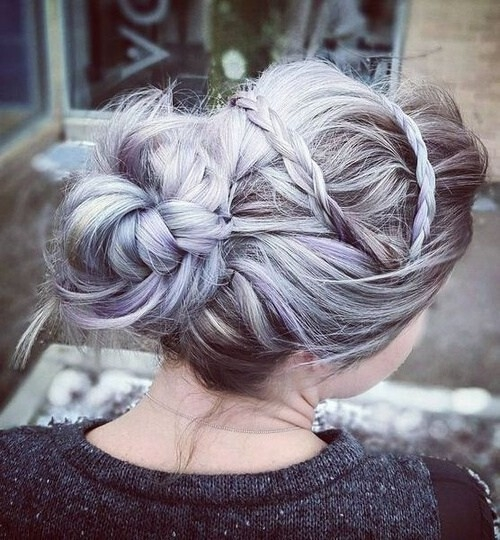 Fresh 10 pretty messy updos for long hair updo hairstyles 2020 Loose Braid Updo Long Hair Choices
