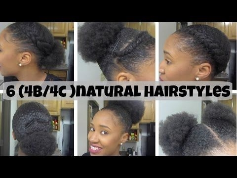 Fresh 10 quick amp easy natural hairstyles under 60 seconds for Quick Natural Hairstyles For Short 4c Hair Inspirations
