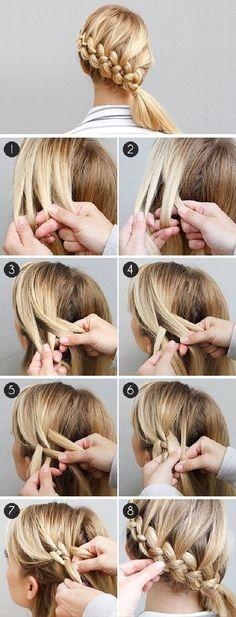 Fresh 100 hairstyles braids ideas long hair styles hair Hair Braids Step By Step Pinterest Choices