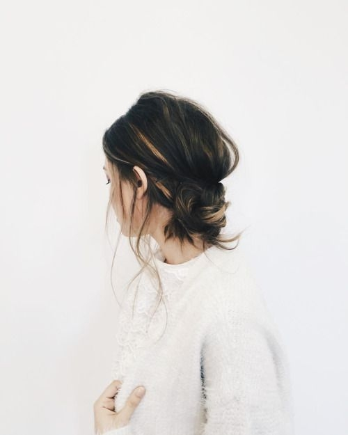 Fresh 20 easy updos to style your short hair the singapore Updos For Short Hair Tumblr Inspirations